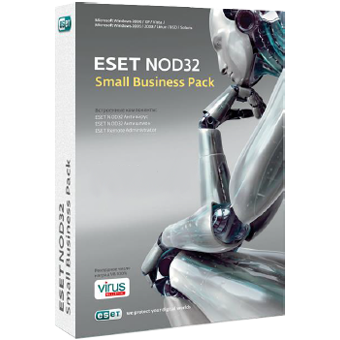 ESET NOD32 Small Business Pack (Пакет, новая, 10 лицензий)