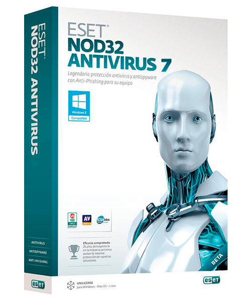 ESET NOD32 Antivirus Business Edition (Лицензия, новая, 7 лицензий)